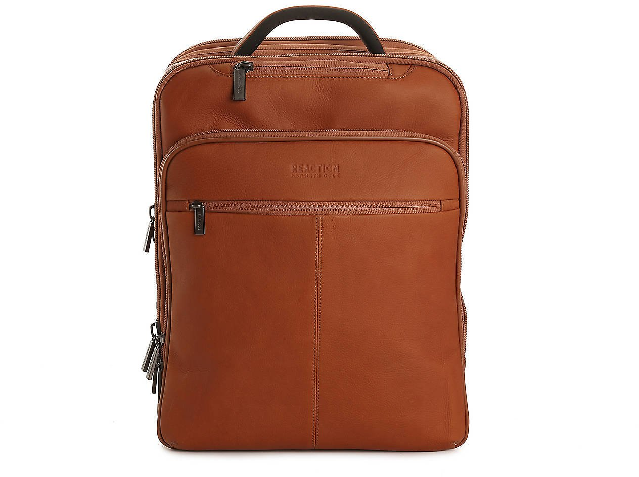 Kenneth Cole Reaction Columbian Leather Computer Backpack