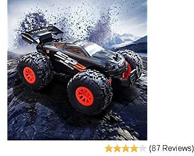 Remote Control Monster Truck with 2.4GHz Radio Controlled Vehicle Off Road Remote Control Car