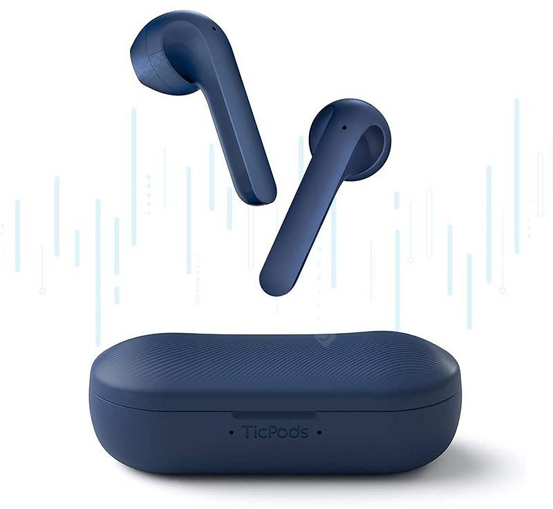 TicPods 2 Wireless Earbuds - Blue