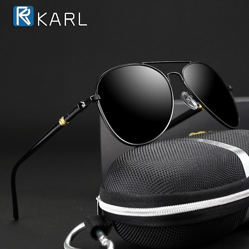 US $3.98 20% OFF|Classic Sunglasses Polarized Men Driving Glasses Black Pilot Sun Glasses Brand Designer Male Retro Sunglasses For Men/Women|Men's Sunglasses| - AliExpress