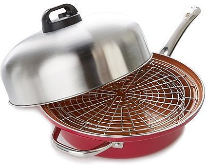 Turbo Cooker SteamCooking™ All-In-One Skillet 4-piece - 8737016   HSN