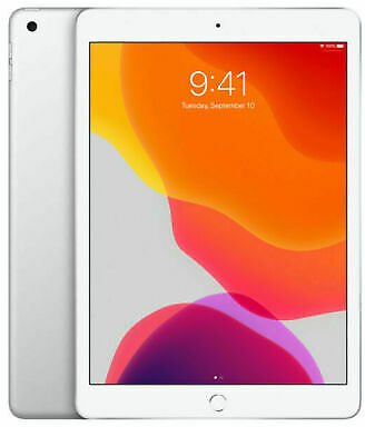 Apple IPad 7th Gen. 32GB, Wi-Fi, 10.2 in - Silver US Stock 2019