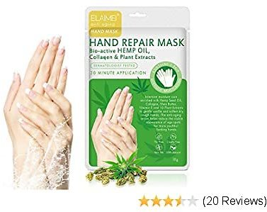 Hand Peel Mask 3 Pack, Hand Skin Repair Renew Mask W/Infused Collagen, Vitamins + Natural Plant Extracts, Repair Rough Skin Remove Dead Skin for Women Men