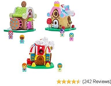 Nanables Small House Sweetness Town 3-Pack #2: Cupcake Place, Milk & Cookie Mill, & Kettle Corner Bistro
