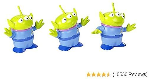 Disney Pixar Toy Story 4 Aliens Figures, 4.4 in / 11.18 Cm Tall, 3 Posable Character Figures for Kids 3 Years and Older [Amazon Exclusive]