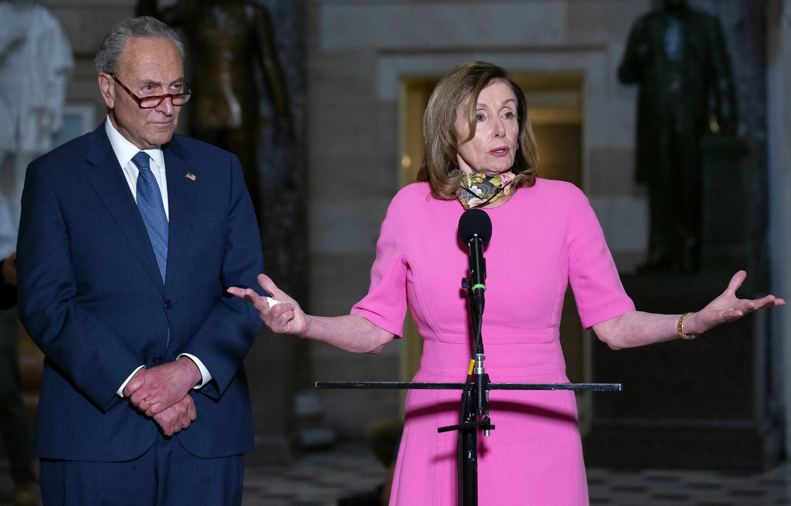 No Sign of Stimulus Deal in Sight As Pelosi Says Dems, White House Are 'miles Apart'