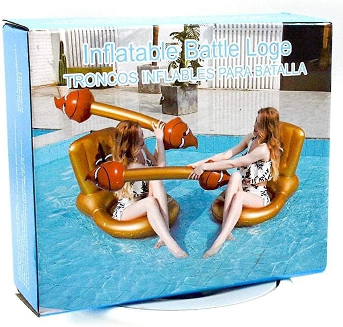 4Pcs Creative Funny Inflatable Floating Row Toys