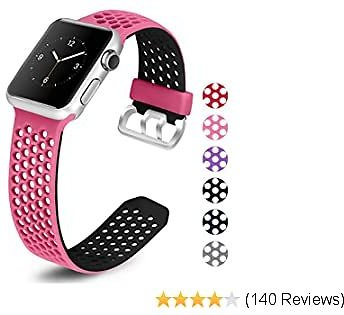 Replacement Strap Sport Wristband Compatible with IWatch