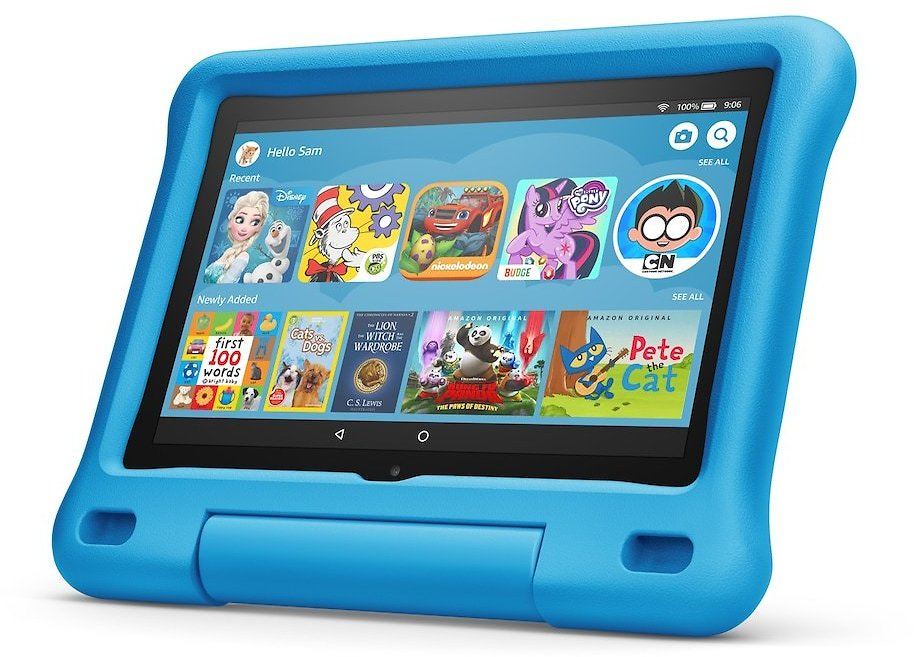 Amazon Fire HD 8 Kids Edition Tablet with Kid-Proof Case 32 GB + $10 Kohl's Cash & F/S