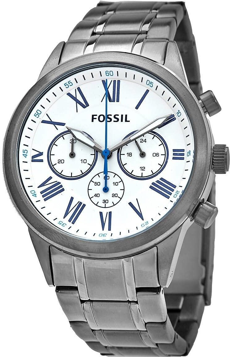 Fossil Flynn Chronograph Quartz White Dial Men's Watch BQ2232
