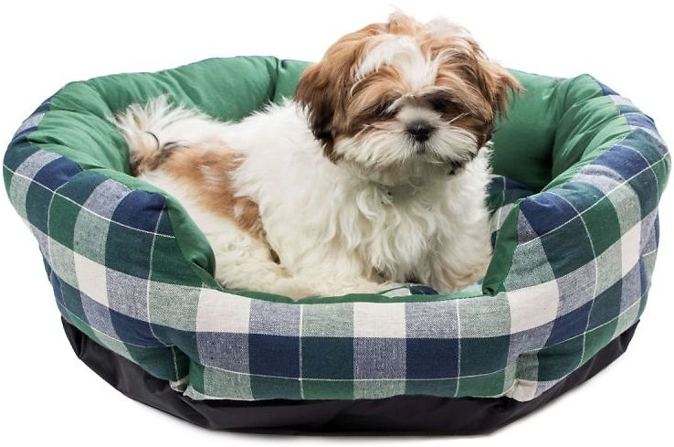 Duck River Textile | Hasley Round Pet Bed - Green Plaid | Nordstrom Rack