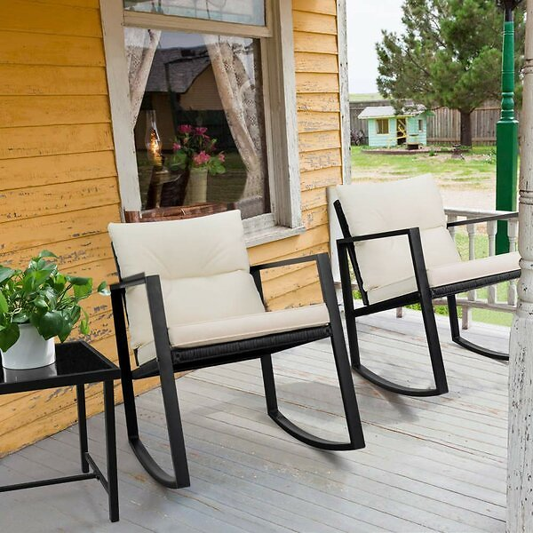 Beauman 3 Piece 2 Seating Group with Cushions