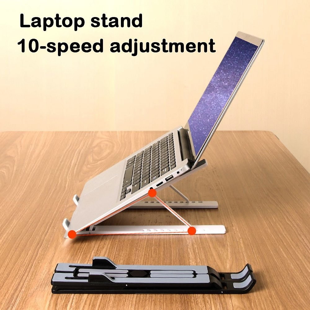 US $11.07 50% OFF|11 17.3 Inch Portable Foldable Laptop Stand Ergonomic Adjustable Notebook Holder Support Macbook Pro Air Computer Bracket|Laptop Stand| - AliExpress