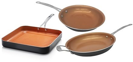 64% OFF   Gotham Steel Non-Stick T-Cerama Cookware (Multiple Options Available)