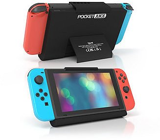 Tzumi PocketJuice Portable Charger for Nintendo Switch – 10,000 MAh Extended Power Bank with Built-In Kickstand, Charging Port for Smartphones & Tablets, Micro-USB Cord Included & Reviews - Home
