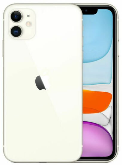 Apple IPhone 11 - 64GB - White (AT&T) A2111 (CDMA + GSM) for Sale Online
