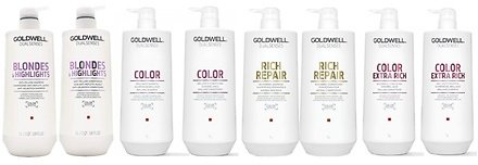 Goldwell Dualsenses Rich Repair, Color, or Blondes Shampoo & Conditioner