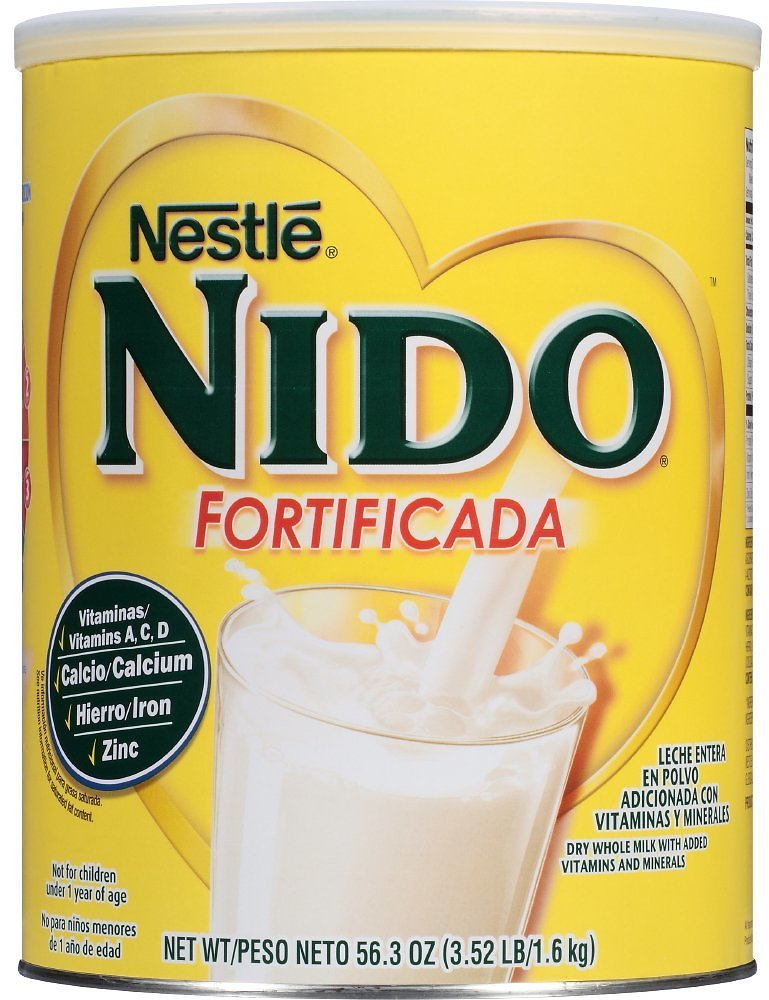24% Discount - NESTLE NIDO Fortificada Dry Milk 56.3 Oz. Canister