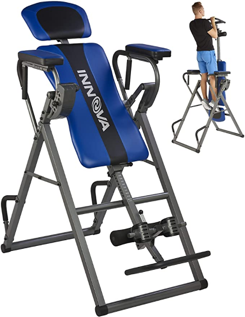 Innova Inversion Table w/ Power Tower Workout Station