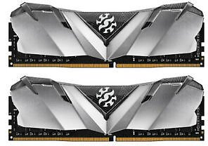 XPG GAMMIX D30 Desktop Memory Series: 16GB (2x8GB) DDR4 3000MHz CL16 Black & Red