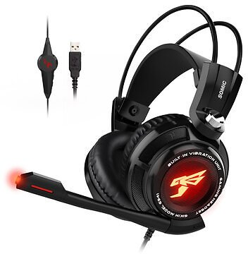 Somic G941 Gaming Headset 7.1 Channel USB Wired Stereo Sound Headphone