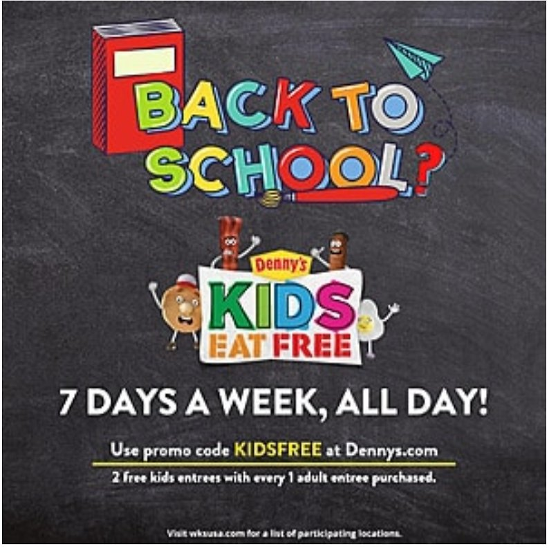 2 FREE Kids Entrees with Purchase of Adult Entree +  Free Curbside Pickup