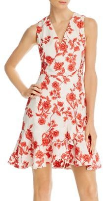 Rebecca Taylor Embroidered Floral Dress Women - Bloomingdale's