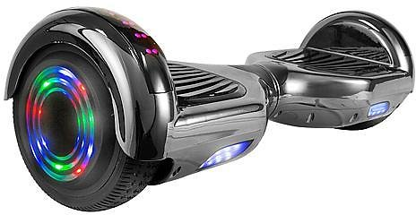 AOB Chrome Hoverboard with Bluetooth Speakers - 10081532 | HSN