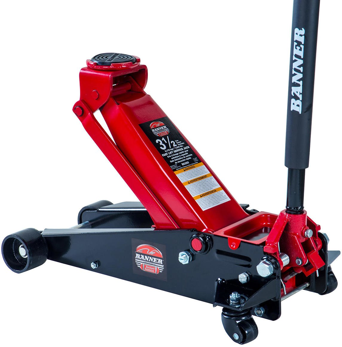 Blackhawk Fast-lift Service Jack - 3.5 Ton Capacity (Black/Red) - Sam's Club