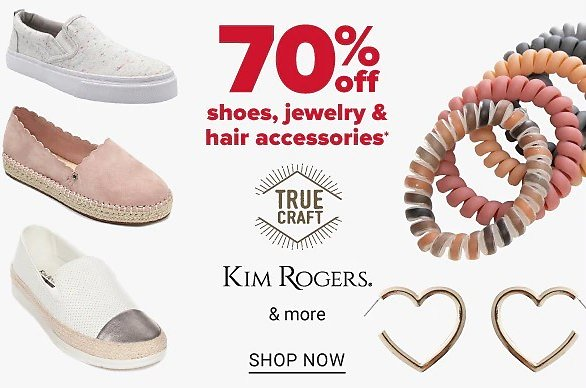 70% Off Jewelry, Shoes & Hair Accessories   Belk
