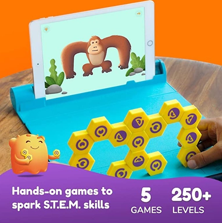 Shifu Plugo Link - Construction Kit with Puzzles, Augmented Reality Stem Toy