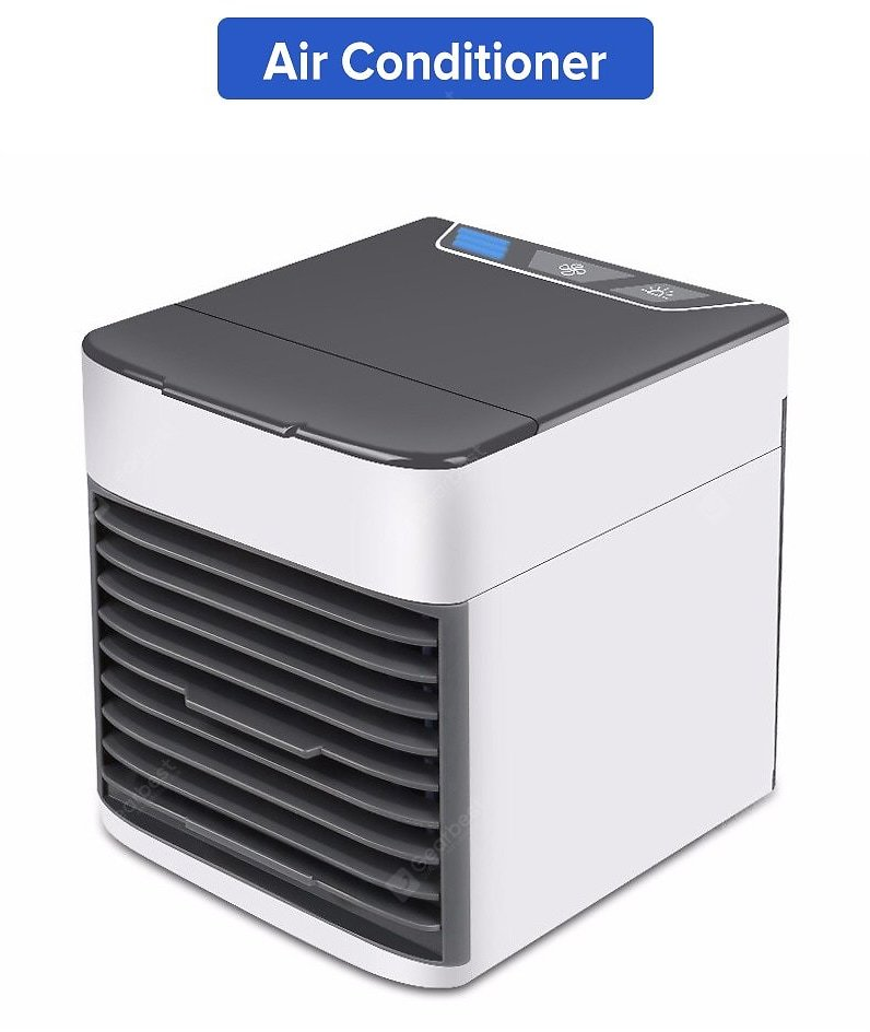 Mini Home Air Conditioner Portable Air Conditioning Personal Space Air Cooler USB Rechargeable Humidifier Air Cooling Desk Fan Sale, Price & Reviews | Gearbest