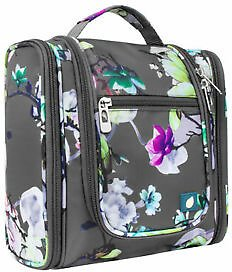 Travel Cosmetic Makeup Bag Toiletry Hanging Organizer Storage Case Pouch Women
