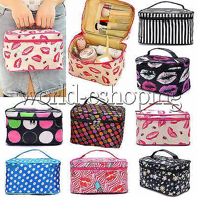 Women Travel Cosmetic Bag Toiletry Makeup Beauty Organizer Storage Pouch Case