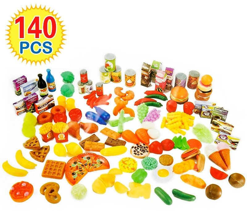 US $21.66 36% OFF|140Pcs Cutting Fruits Vegetables Pretend Play Kids Kitchen Toys Miniature Safety Food Sets Educational Classic Toy for Children|kitchen Toys|play Kitchen Toyscutting Fruit Vegetable - AliExpress