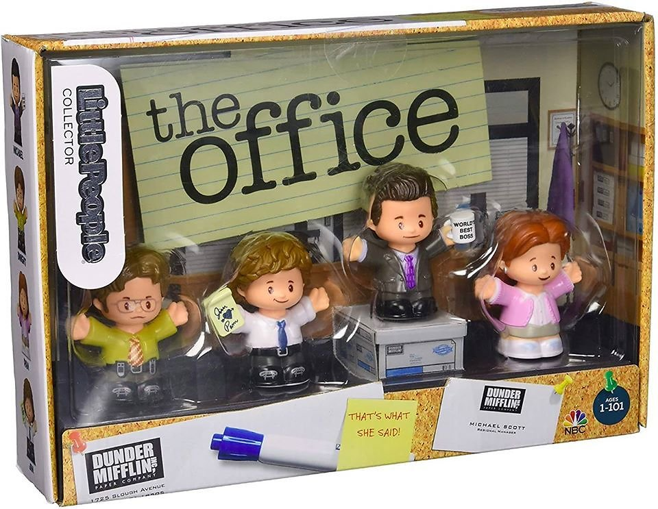 Fisher-Price Little People The Office Figures, Multi