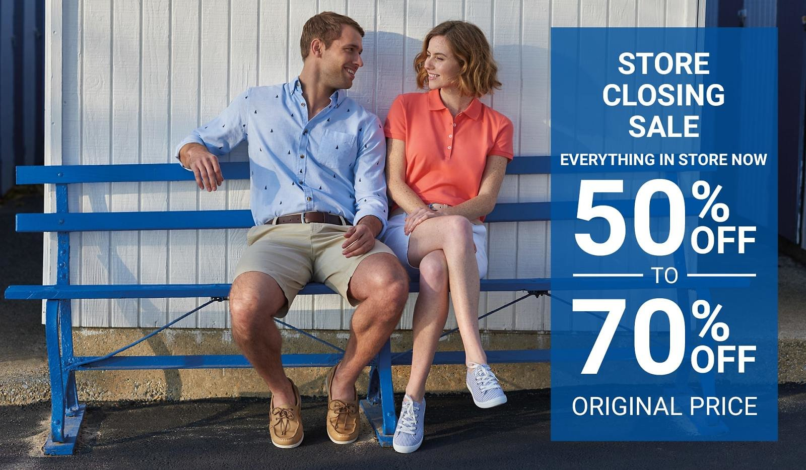 Up To 70% Off Store Closing Sale - G.H. Bass & Co.