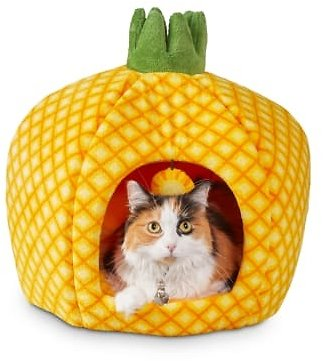 You & Me Pineapple Cat Bed, 18