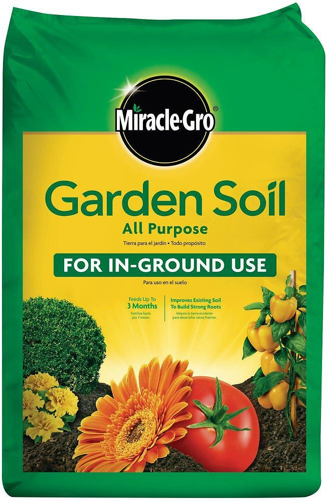 Miracle-Gro Garden Soil All Purpose, 0.75 Cu. Ft. (In-Store)