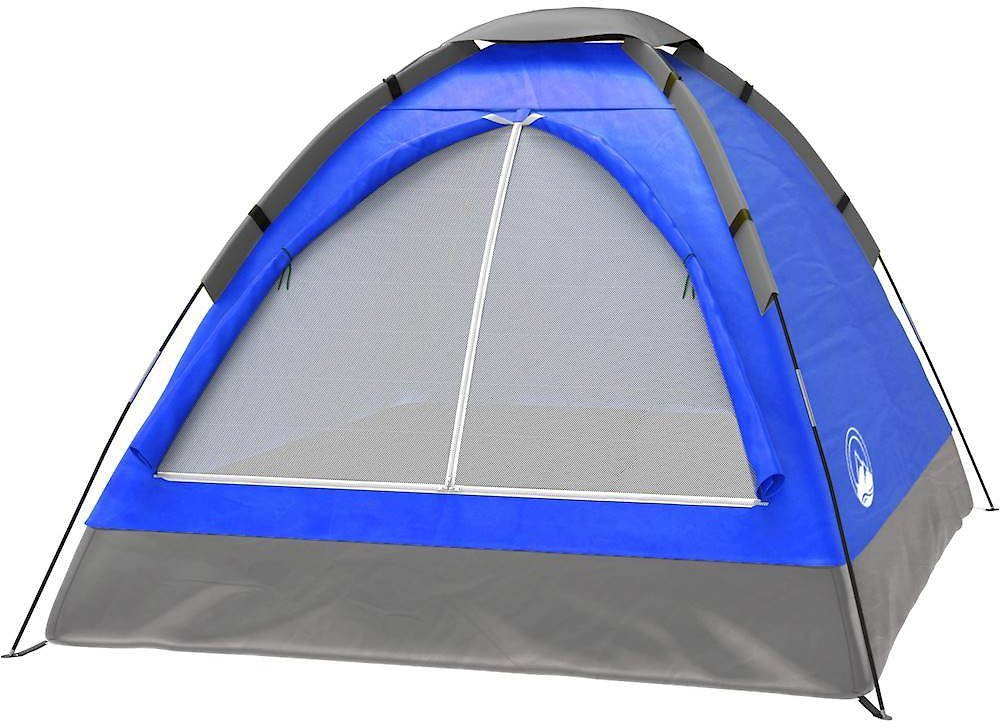 Wakeman TradeMark Two Person Tent, Blue