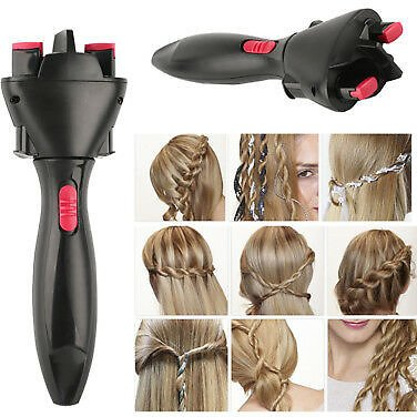 Automatic Hair Braider Styling Tools Smart Quick Easy DIY Electric Braid Machine 8889264900606