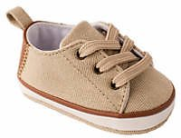 Crown & Ivy™ Baby Boys Tan Lace Up Sneakers