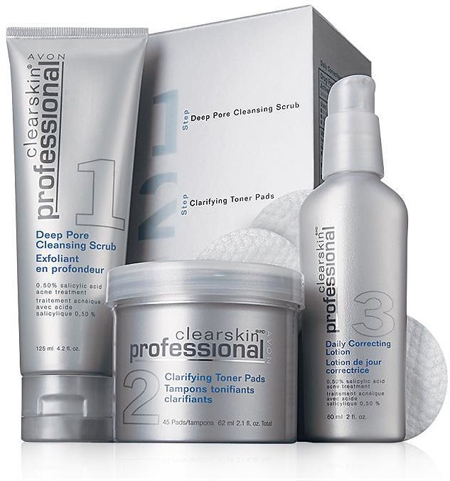 Clearskin® Professional 3-step Acne Treatment System