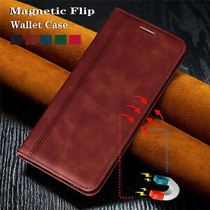 For Samsung Galaxy A51 A71 Luxury Magnetic Flip Leather Wallet Stand Case Cover
