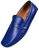 Amazon.com   CEKU Men's Driving Causal Loafers Slip On Leather Handmade Flats Classic Comfortable Oxford Walking Shoes   Loafers & Slip-Ons
