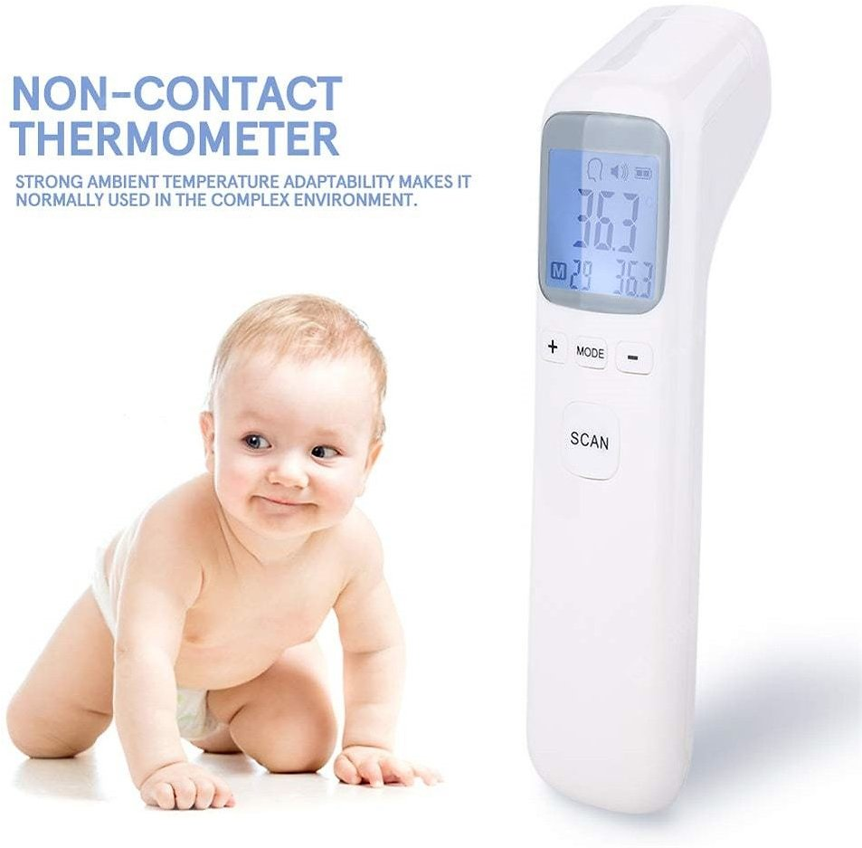 Non Contact 3-in-1 Infrared Forehead and Ear Thermometer Children Adults Body Thermometer Digital Sale, Price & Reviews | Gearbest