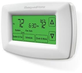 Honeywell Home 7-Day Programmable Touchscreen Thermostat-RTH7600D