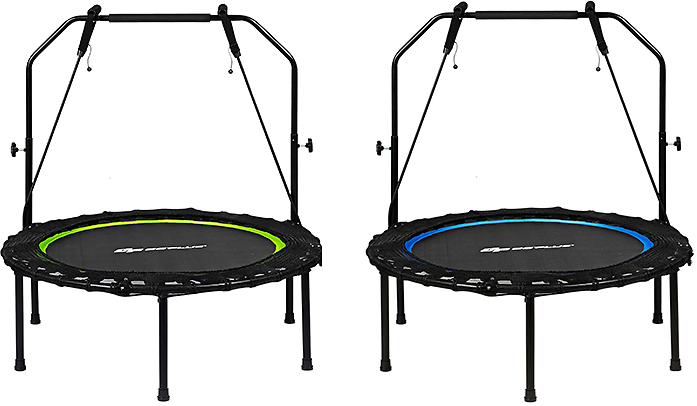 50% Off Fitness Trampoline with Resistance Bands