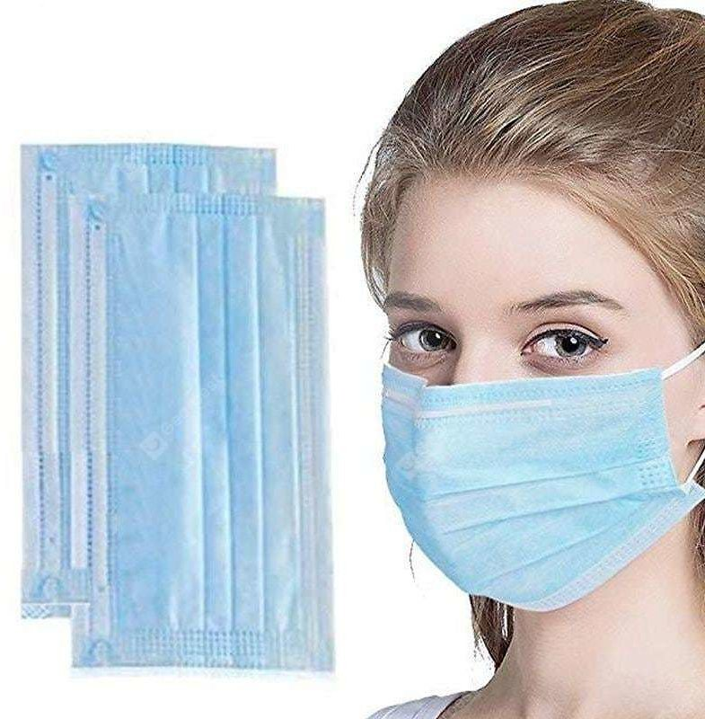 Disposable Medical Mask 3-Ply Anti-Dust Surgical Face Mouth Anti-bacteria Masks - China 100pcs