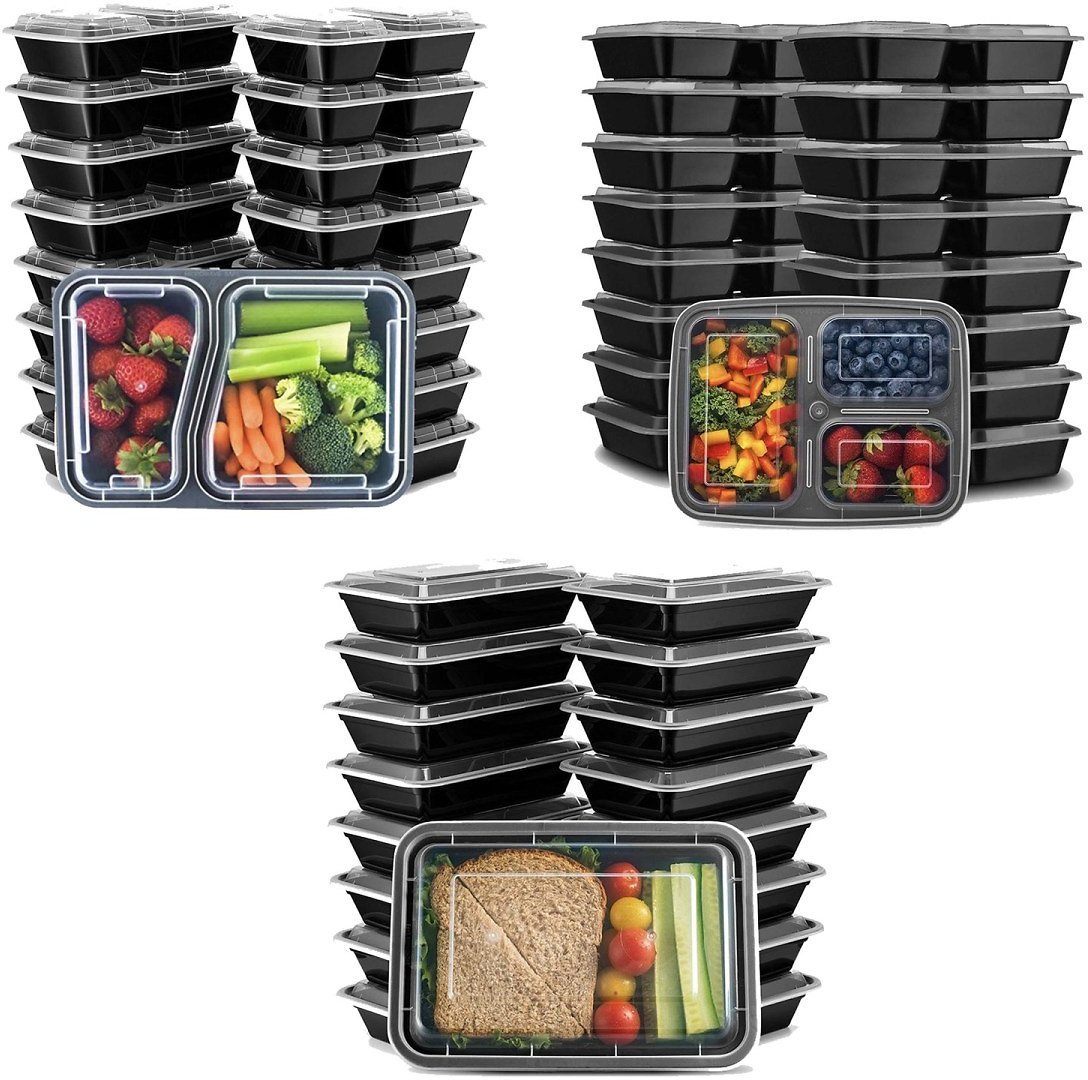 40-Piece Meal Prep Food Container Set